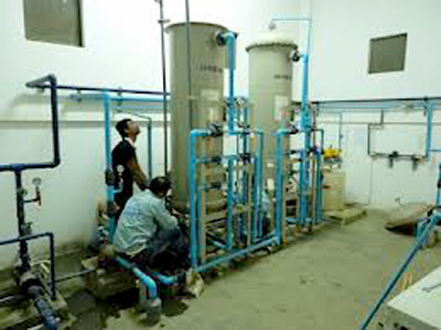 Warranty service, maintenance and repair of water purification equipment